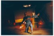 <h5>Feuershow, ca. 1995</h5>